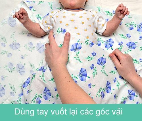 Mẹ khéo quấn tã bé yêu ngủ ngon - 5