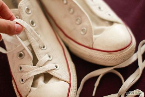 Mẹo giặt giày converse đúng cách
