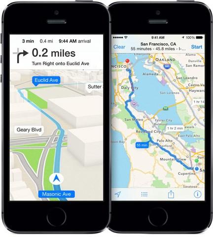 Một tính năng mới khiến apple maps có phần ưu việt hơn google maps - 1