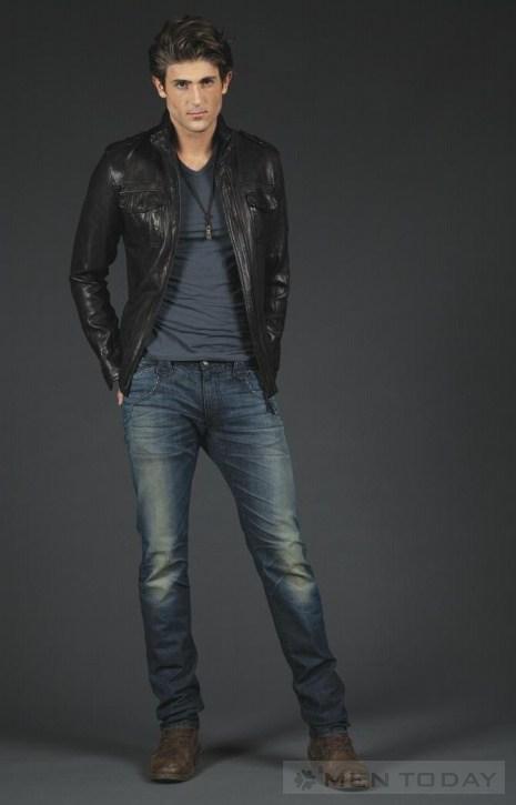 Nam tính và gợi càm cùng BST Jeans Thu đông từ Robin