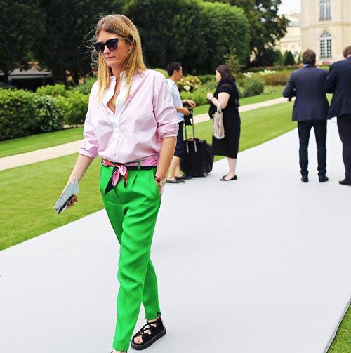 Phong cách đường phố thú vị tại paris haute couture fw - 1