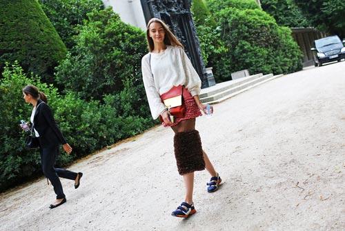 Phong cách đường phố thú vị tại paris haute couture fw - 3