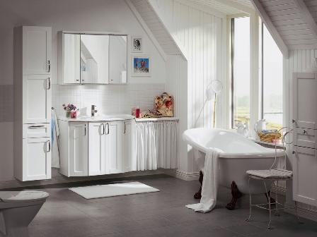 Phòng tắm đồng bộ hafa bathroom - 2