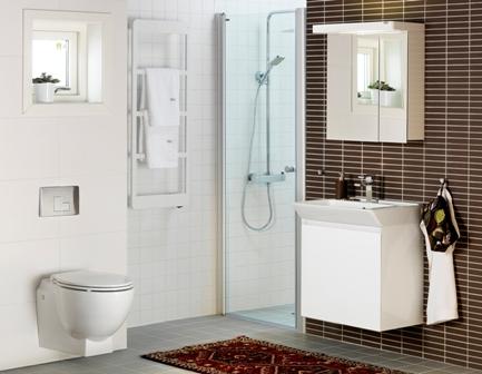 Phòng tắm đồng bộ hafa bathroom - 4