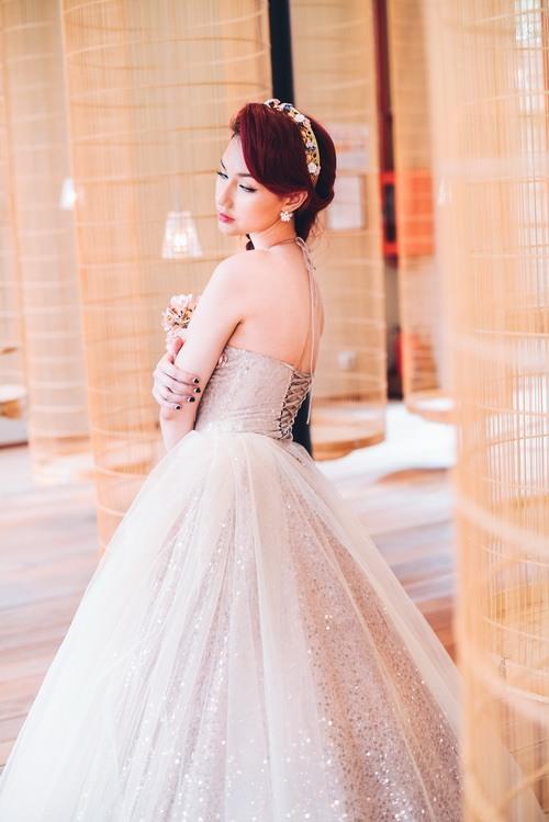 Quỳnh chi làm cô dâu gợi cảm khôn xiết sau ly hôn - 2