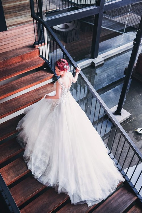 Quỳnh chi làm cô dâu gợi cảm khôn xiết sau ly hôn - 6