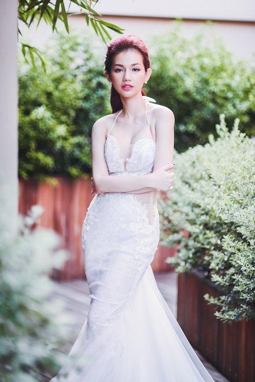 Quỳnh chi làm cô dâu gợi cảm khôn xiết sau ly hôn - 8