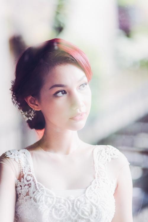 Quỳnh chi làm cô dâu gợi cảm khôn xiết sau ly hôn - 13