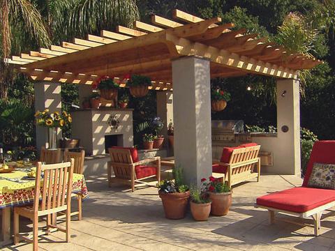 Sân chơi trang trí patio - 1