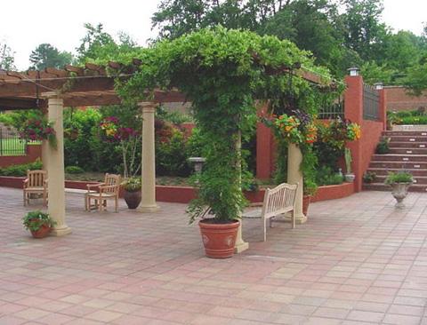 Sân chơi trang trí patio - 3