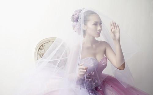 Siêu mẫu khánh ngọc diện áo cưới kiêu sa - 4