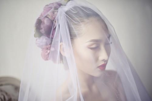 Siêu mẫu khánh ngọc diện áo cưới kiêu sa - 6