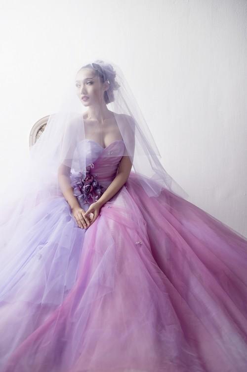 Siêu mẫu khánh ngọc diện áo cưới kiêu sa - 7