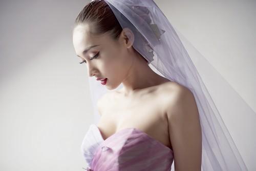 Siêu mẫu khánh ngọc diện áo cưới kiêu sa - 12