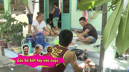 Tập 14 bố ơi các ông bố toát mồ hôi nấu ăn cho 200 người - 8