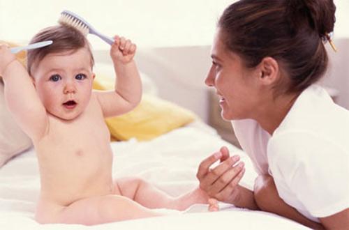 tất tần tật về tóc của trẻ sơ sinh - 1