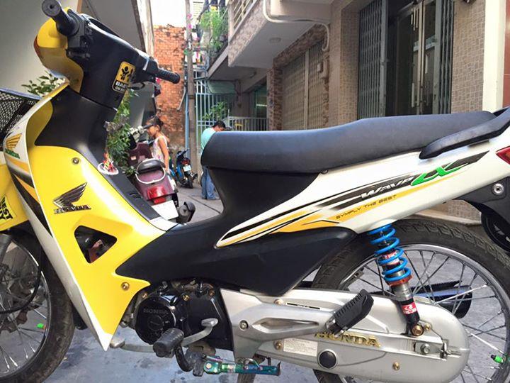 Wave a kiểng phiên bản yellow nổi bật - 2