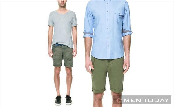 Xu hướng quần short nam mùa hè 2013