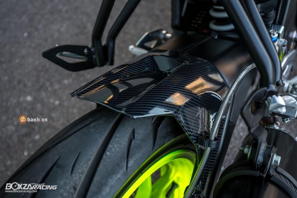 Yamaha m-slaz ấn tượng trong bộ cánh đầy nổi bật và phong cách