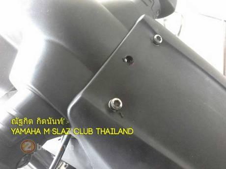 Yamaha m-slaz độ pas biển số cực độc - 2