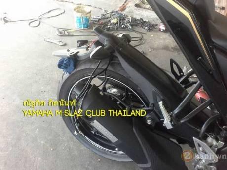 Yamaha m-slaz độ pas biển số cực độc - 4
