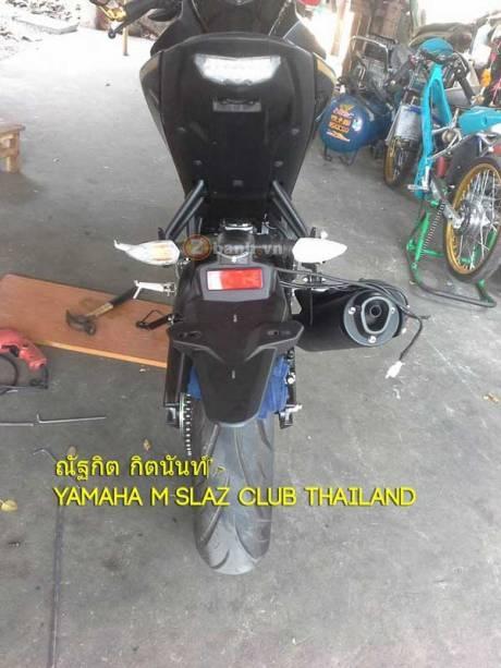 Yamaha m-slaz độ pas biển số cực độc - 5