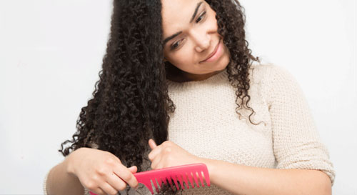 15 mẹo giữ nếp tóc xoăn không cần sấy - 2