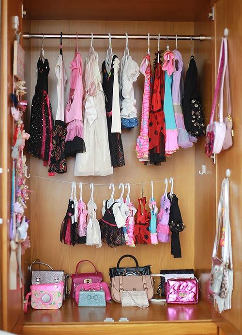 Bé gái sài gòn sở hữu tủ quần áo hàng trăm món tuyệt đẹp - 3