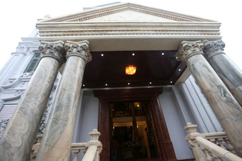 Biệt thự cổ điển đầu tiên ở hà nội - 3