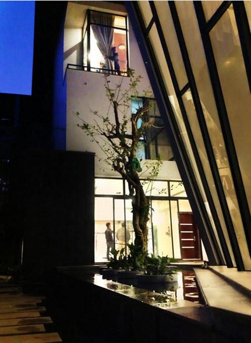 Biệt thự hà nội sừng sững cây xanh giữa nhà - 12