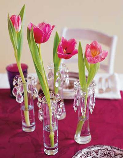 Bình hoa tulip đem mùa xuân vào nhà - 1