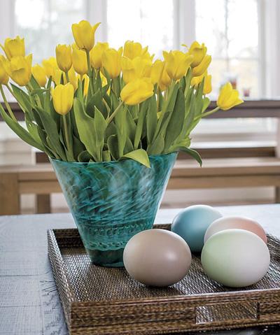 Bình hoa tulip đem mùa xuân vào nhà - 3