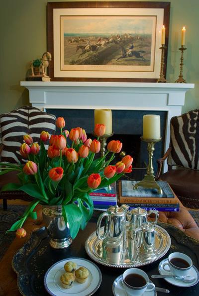 Bình hoa tulip đem mùa xuân vào nhà - 7