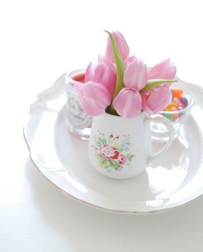 Bình hoa tulip đem mùa xuân vào nhà - 8
