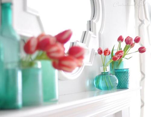 Bình hoa tulip đem mùa xuân vào nhà - 9