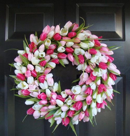 Bình hoa tulip đem mùa xuân vào nhà - 10