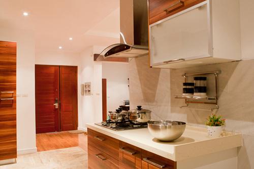 Bố trí nội thất căn hộ chung cư 160 m2 - 1