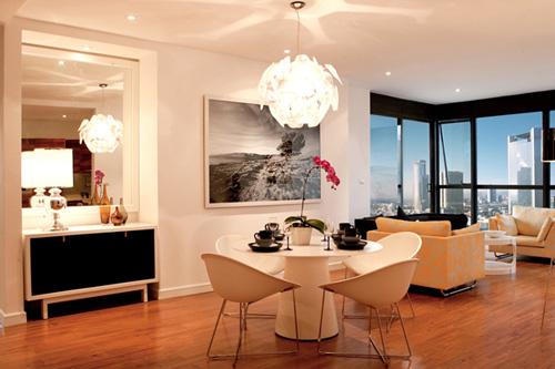 Bố trí nội thất căn hộ chung cư 160 m2 - 2
