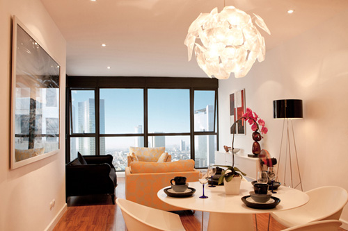 Bố trí nội thất căn hộ chung cư 160 m2 - 3