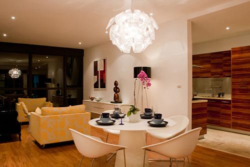 Bố trí nội thất căn hộ chung cư 160 m2 - 4