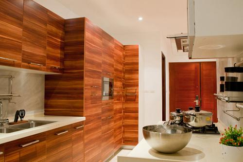 Bố trí nội thất căn hộ chung cư 160 m2 - 6