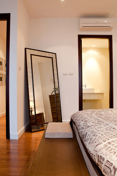Bố trí nội thất căn hộ chung cư 160 m2 - 7