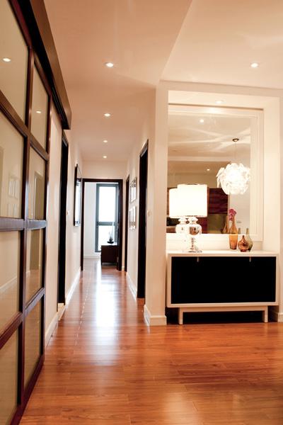 Bố trí nội thất căn hộ chung cư 160 m2 - 9