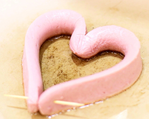 Bữa sáng lãng mạn với trái tim trứng cho valentine - 4