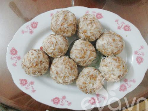 Cách làm bánh trung thu nướng nhân sữa dừa - 5