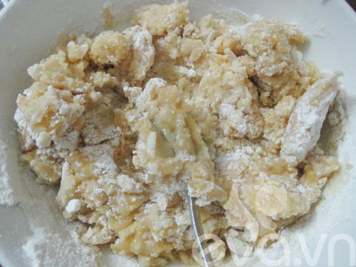 Cách làm bánh trung thu nướng nhân sữa dừa - 6
