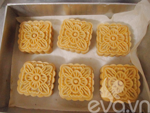 Cách làm bánh trung thu nướng nhân sữa dừa - 10