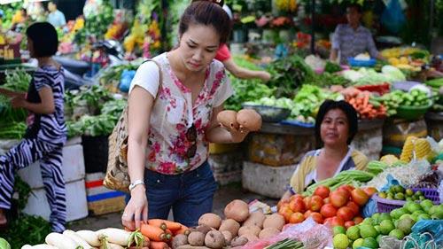 Chiêu khử thuốc trừ sâu trên rau quả cho con siêu hiệu quả
