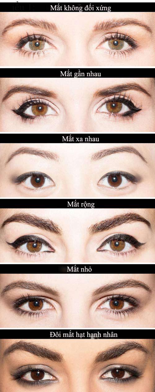 Chọn phong cách kẻ eyeliner phù hợp với từng dáng mắt - 2