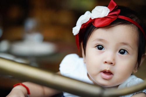 Con gái hà kiều anh môi trái tim mắt huyền xinh ngẩn ngơ - 3